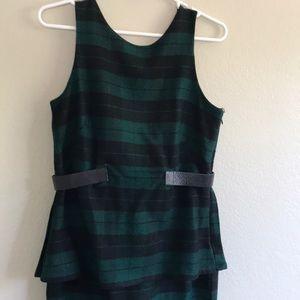 ASOS wool tartan dress size 6